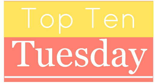 Top Ten Tuesday: Cover Candy