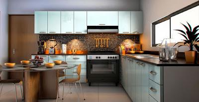 privada modelo residencial Arborettos Modelo Olmo cocina