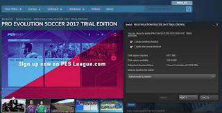 Cara Main Online PES 2017 Secara Gratis