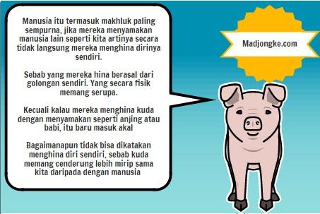 curhat anjing kepada babi komik