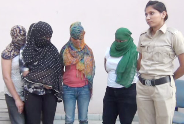 Faridabad: A gang involved in the business of prostitution business