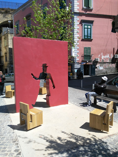 Monumento a Totò-Piazza sanità-Rione Sanità-Napoli