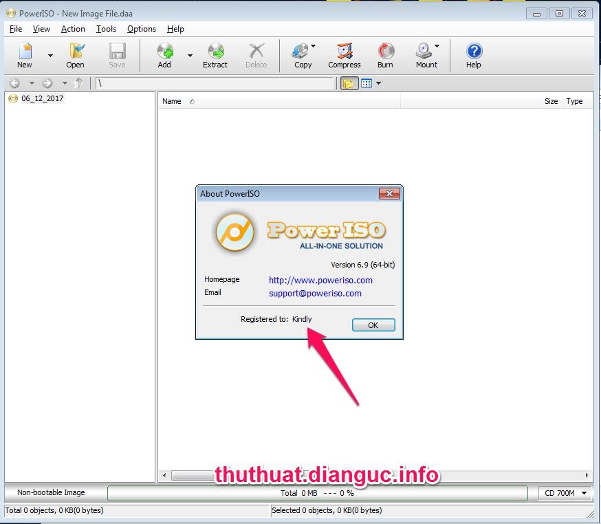 Download PowerISO 6.9 Full key