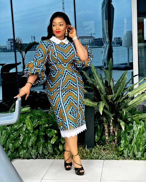 2019 Attractive Ankara Long Gown Styles