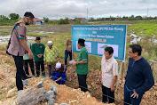 Azhar Arsyad Letakkan Batu Pertama Pembangunan Kantor DPC PKB kabupaten Pinrang