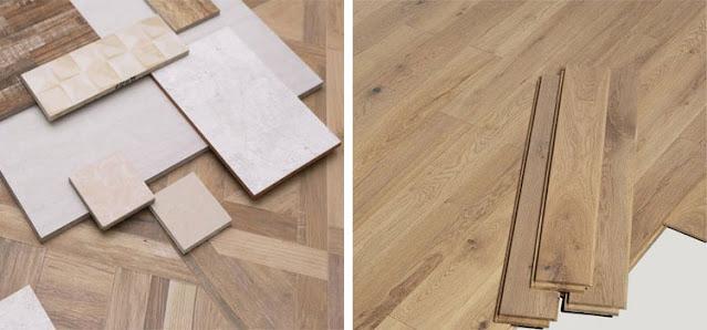 Suatu perbedaan lantai keramik dan lantai kayu