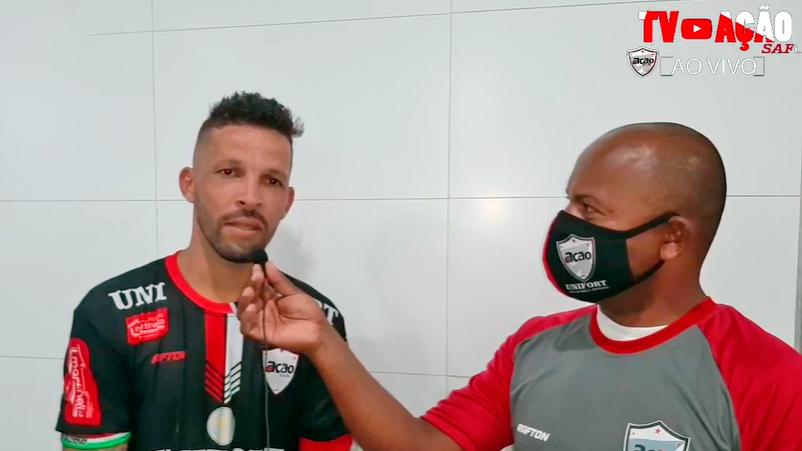 Atleta Paulinho Mingal avalia vitória contra o Dom Bosco