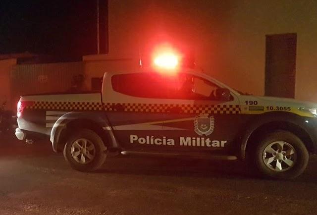 Homem agride com cinto sua esposa e é preso pela Polícia Militar