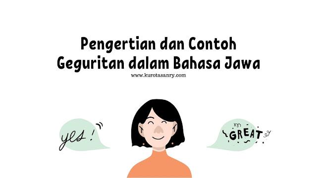 Pengertian dan Contoh Geguritan dalam Bahasa Jawa