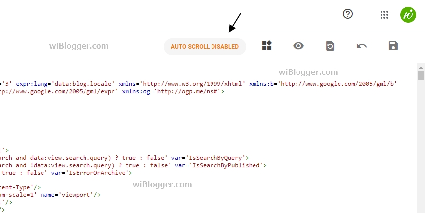 Cara mengatasi Scroll ke Atas otomatis di XML HTML  Editor Blogger