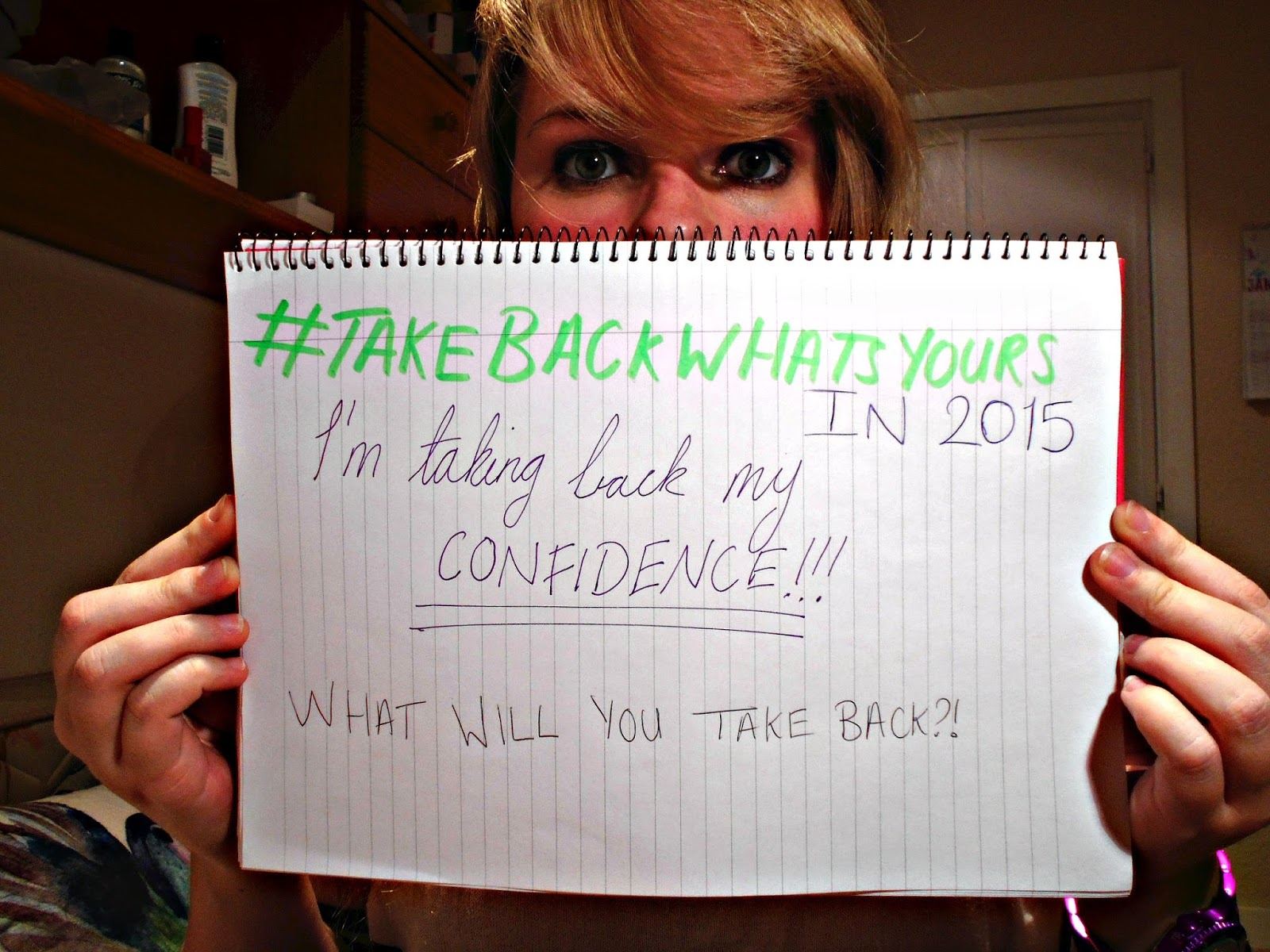 Take Back What's Yours campaign, journeytothecentreofnewexperiences