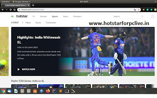 Hotstar App For PC Windows