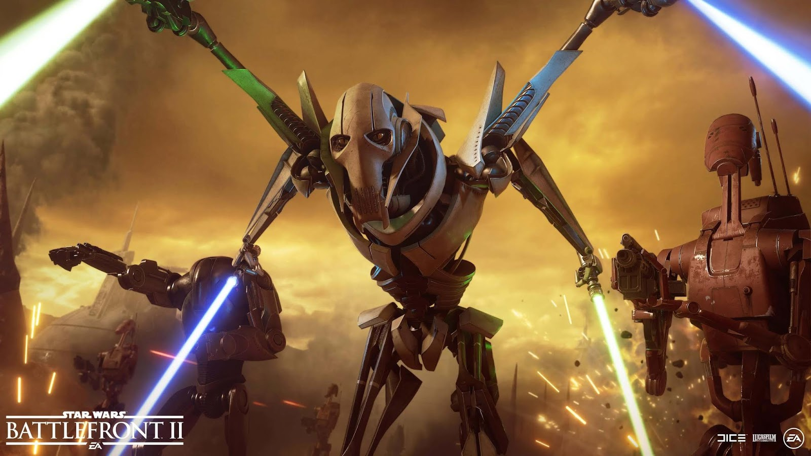 Star Wars Battlefront II General Grievous Update Is Now Live