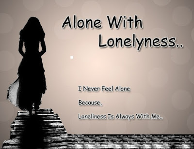 I Am Alone Messages Image