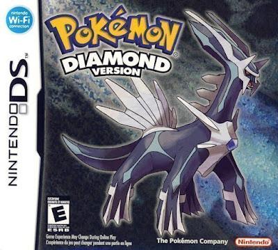 โหลดเกม ROM Pokemon Diamond .nds