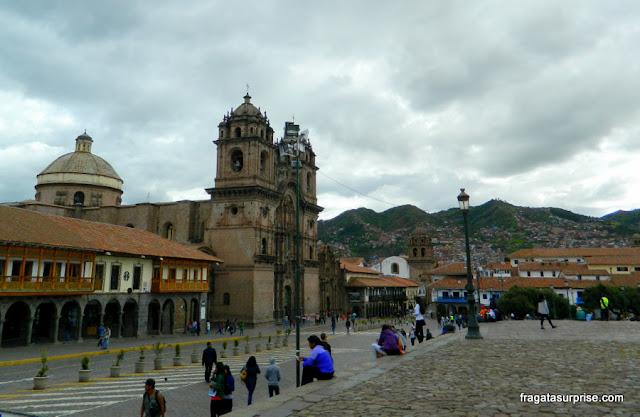 Praça de armas de Cusco - Peru