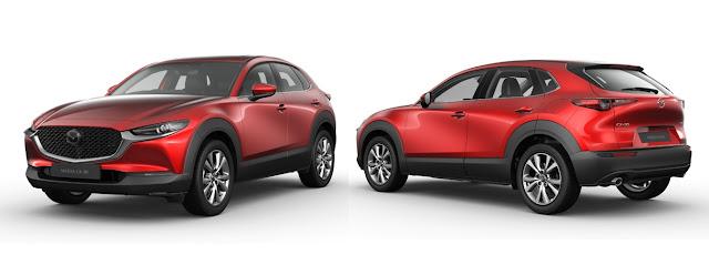 Eksterior Mazda CX-30 2020