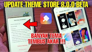 Theme Store 8.0.0 Beta | Oppo dan Realme