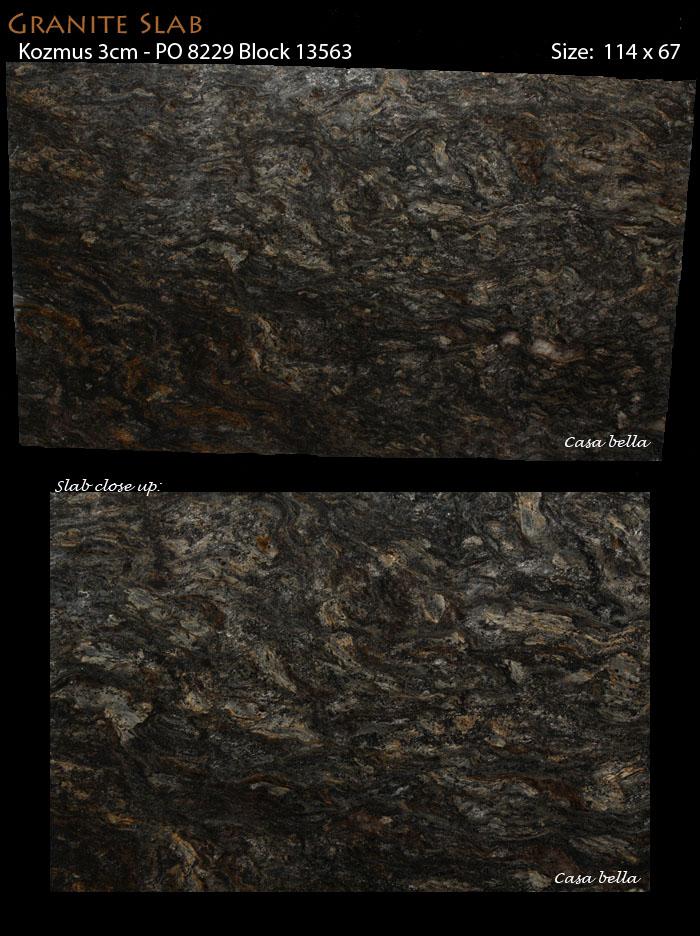Kozmus 3cm Granite We Have Both Polished Leathered Finishes
