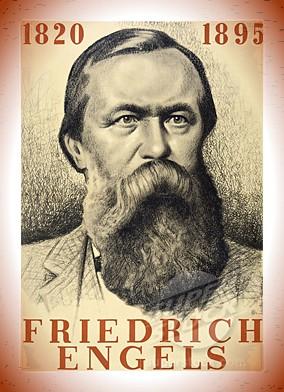 Los marxistas vemos en las condiciones económicas lo que condiciona en última instancia el desarrollo histórico - extracto de una carta de Friedrich Engels escrita a W. Borgius, 25 de enero de 1894 F-e-wood