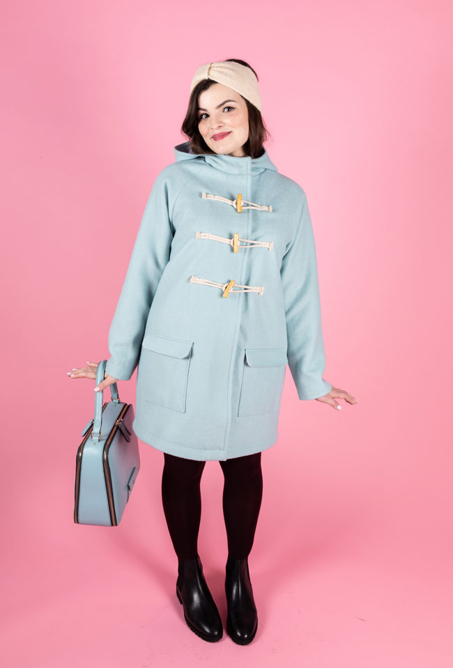 Eden coat sewing pattern - Tilly and the Buttons