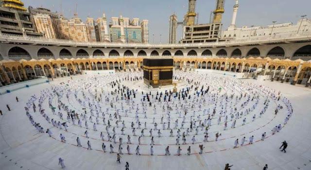 60.000 Muslim di Arab Saudi Diizinkan Menunaikan Ibadah Haji Tahun ini