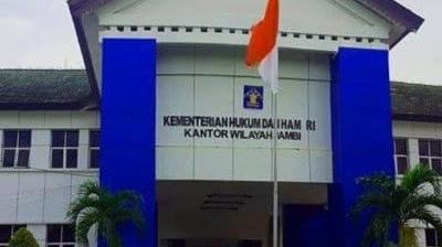 Kanwil Kumham Jambi Lakukan Tes Urine Ke Pegawai Lapas Kelas ll B Kuala Tungkal
