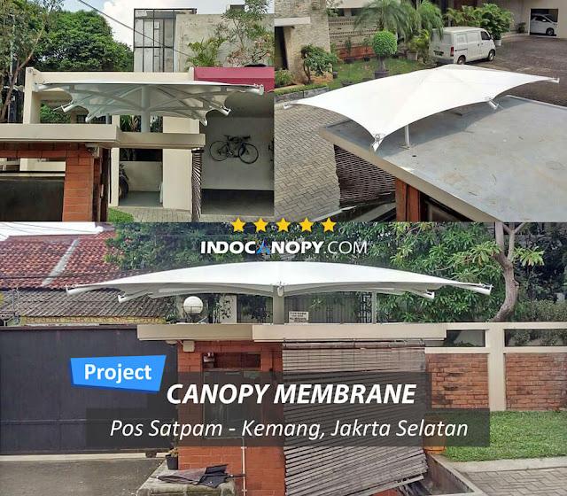 canopy pos satpam