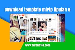 Download template mirip liputan6