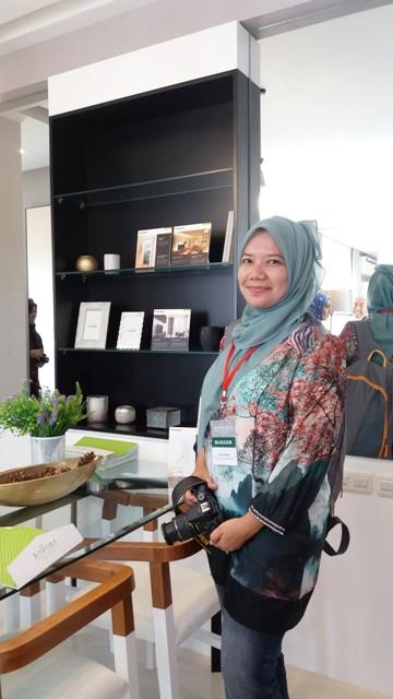 opening ceremony marketing gallery savasa deltamas nurul sufitri blogger sinar mas land panasonic sojitz