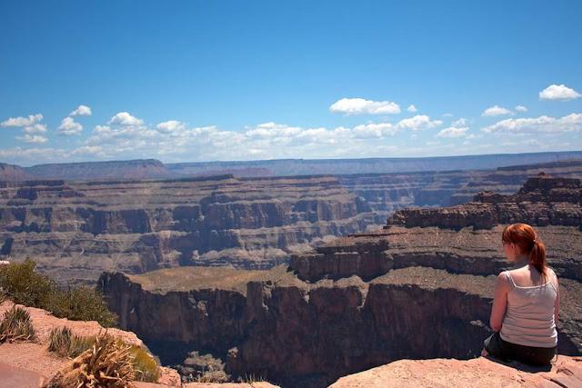 Enjoying the view, Grand Canyon