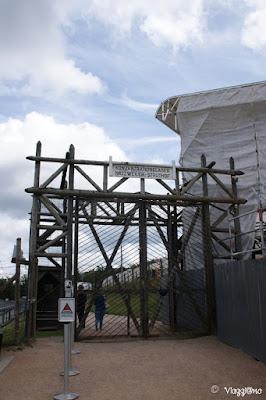 Ingresso al campo di concentramento di Natzweiler-Struthof