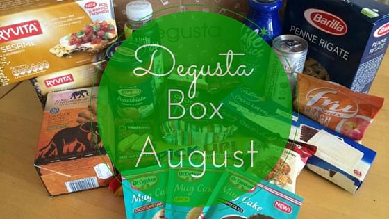 degustabox august review
