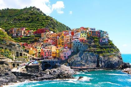 ชิงเคว เตเร (Cinque Terre) @ www.kevinandamanda.com
