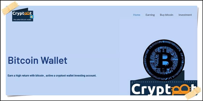 Мошеннический сайт cryptoot.com – Отзывы, развод, платит или лохотрон? Мошенники