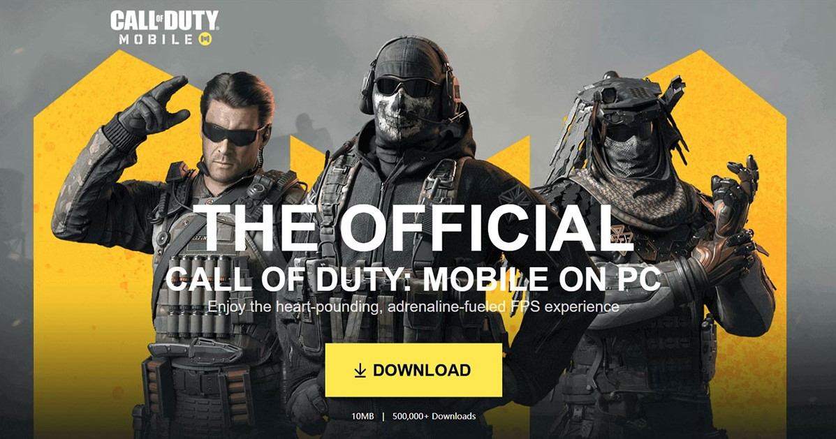 Download Call of Duty Mobile di PC