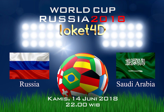 BOLA88 - PREDIKSI TARUHAN BOLA PIALA DUNIA : RUSSIA VS ARAB SAUDI ( RUSSIA WORLD CUP 2018 )
