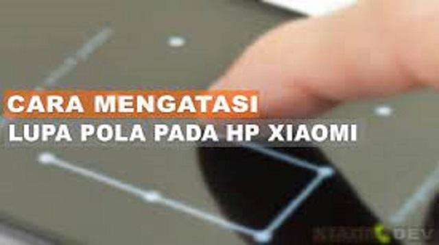 Cara Membuka Pola HP Xiaomi dengan Panggilan Darurat
