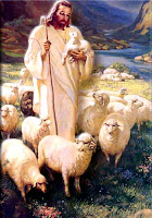 The Good Shepherd leads the Sheep