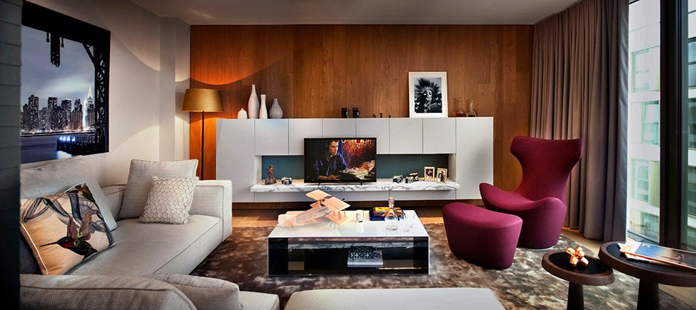 Stylish Living Room Make A Large Living Room Feel Cozy Helge Lange