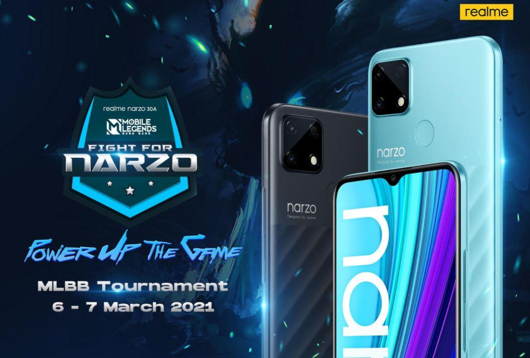 Fight for narzo #PowerUpTheGame MLBB dan 8bit Game, Warnai Peluncuran Realme Narzo 30A