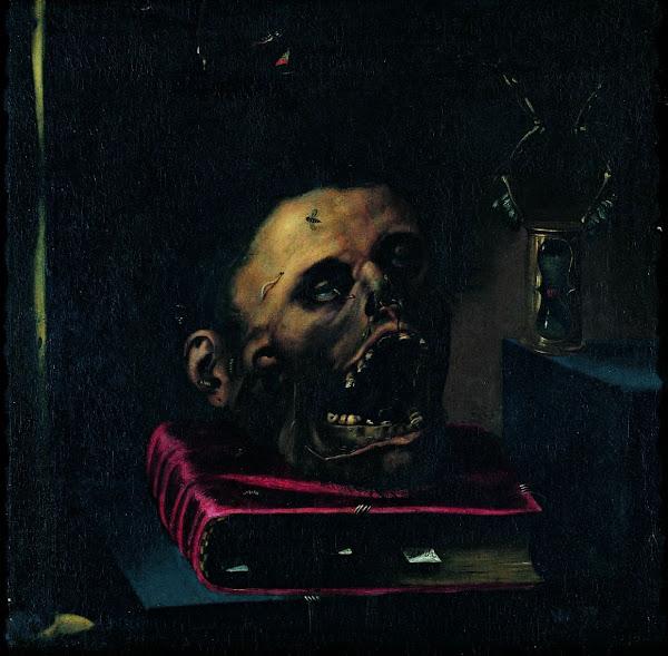 Vanitas, Jacopo-Ligozzi, Religious art, Sacred art, Macabre Art, Macabre Paintings, Horror Paintings, Freak Art, Freak Paintings, Horror Picture, Terror Pictures