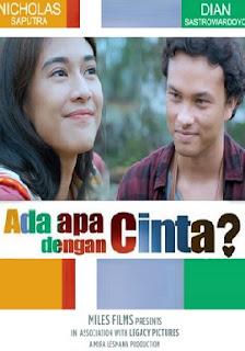 Ada Apa Dengan Cinta 2 (2016) WEb-Dl Subtitle Indonesia