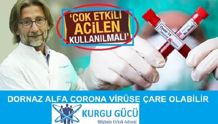 Dornaz Alfa Projesi Corona Virüse Çare Olabilir - Kurgu Gücü