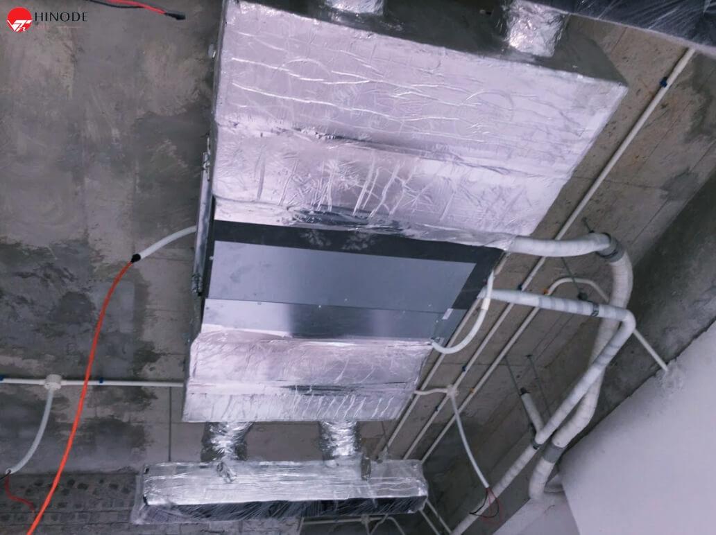 Lắp đặt điều hoà âm trần cho dự án chung cư Hinode City