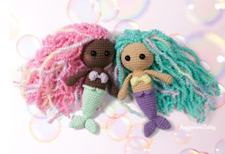 free little mermaid crochet pattern
