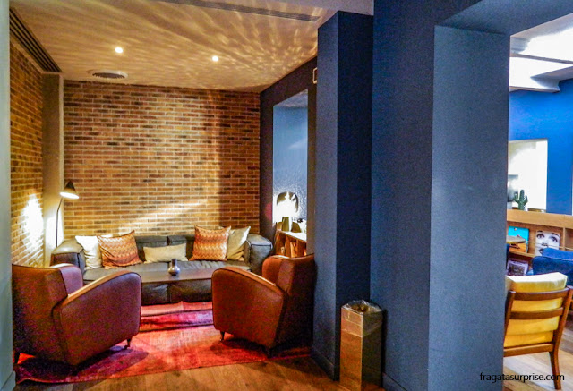 Área de estar do Hotel C-Diplomat, em Florença