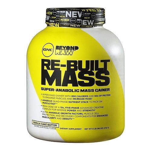 gnc beyond raw re-built mass review