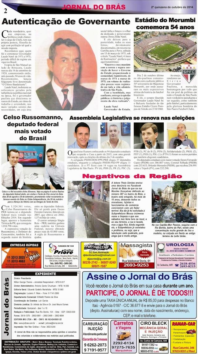 Destaques da Ed. 259 - Jornal do Brás