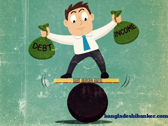 What is debt burden ratio and how to calculate it ?